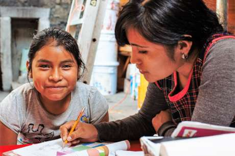 Education for 80 children living in acute poverty