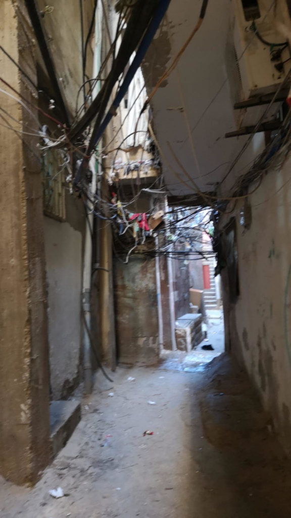 Alley at Shatila Refugee Camp, Beirut