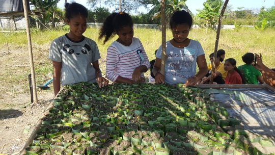 Agriculture Trainings for SOLS students