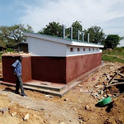 Akaikai primary school  newly constructed latrine
