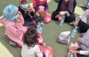 Friendly spaces for children affected by war