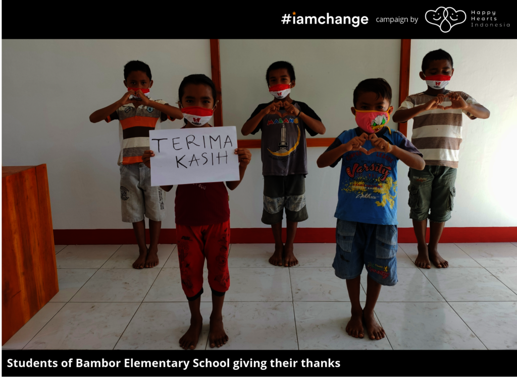 Terima Kasih from Students of Bambor Elementary