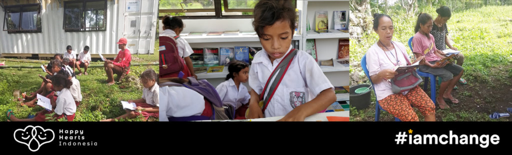 Community Libraries to Promote Reading in Sumba