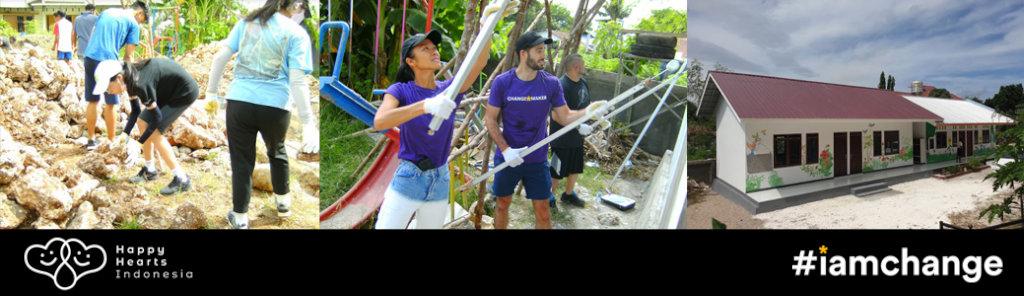 Recently Rebuilt Joel Preschool, West Timor