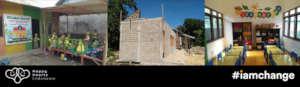 Recently Rebuilt Persaudaraan Preschool, Flores