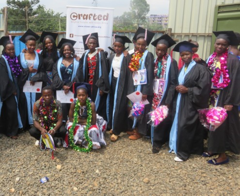Graduation day in Nairobi!