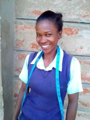 Rebecca at Seed of Hope Kitui