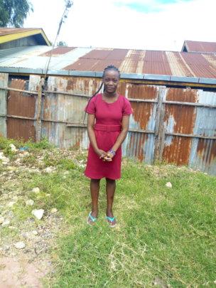 Annet, a graduate in Nairobi