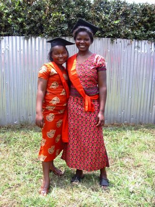 Two of the Nairobi Graduates