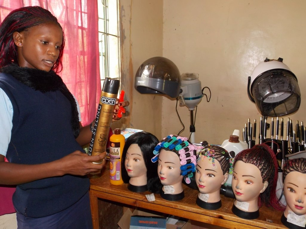 Kitui Hair and Beauty Demo