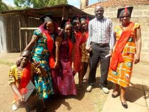 Nairobi Graduates with Teacher
