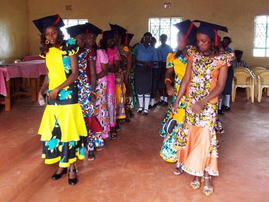 Colourful Graduation in Kariti