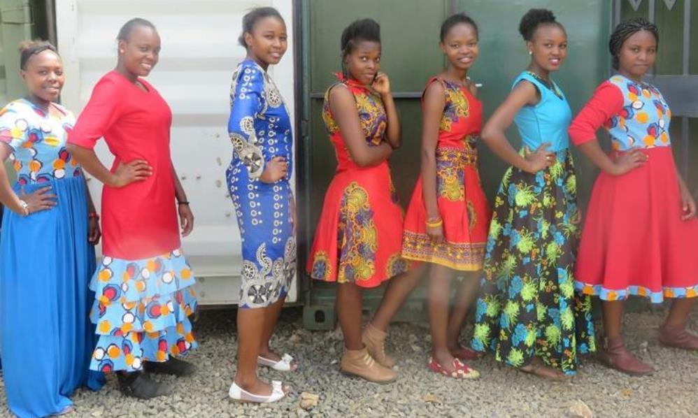 Designed attires from graduates