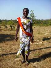 Graduate from (the very dry!) Kitui