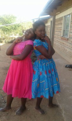Beautiful girls from Kitui Posing for the camera