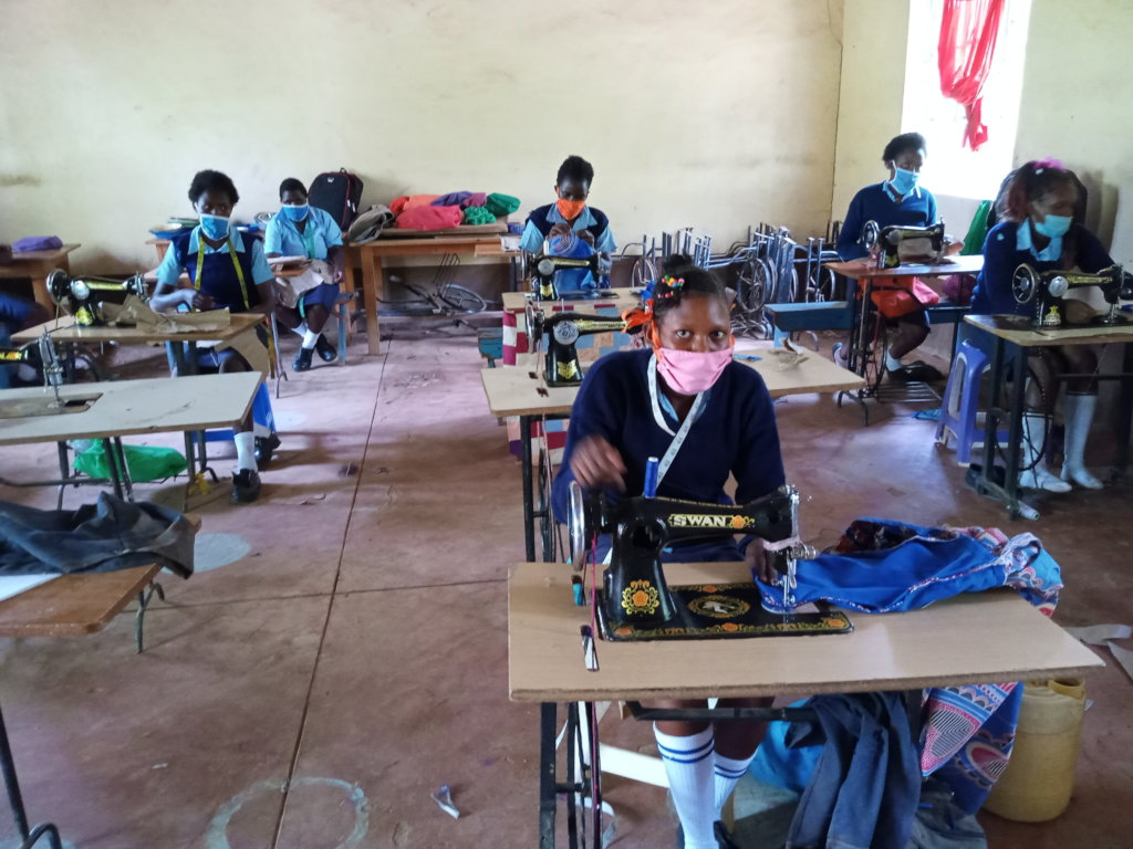 Seed of Hope Kitui Fashion Design class open again