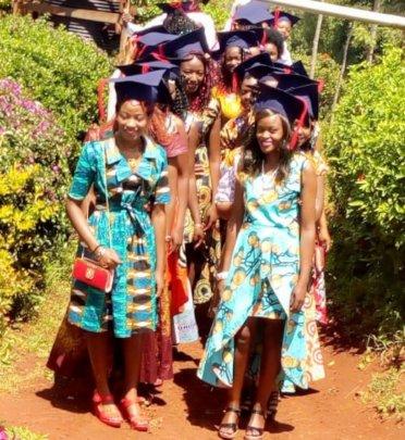 Seed of Hope Kariti graduation procession