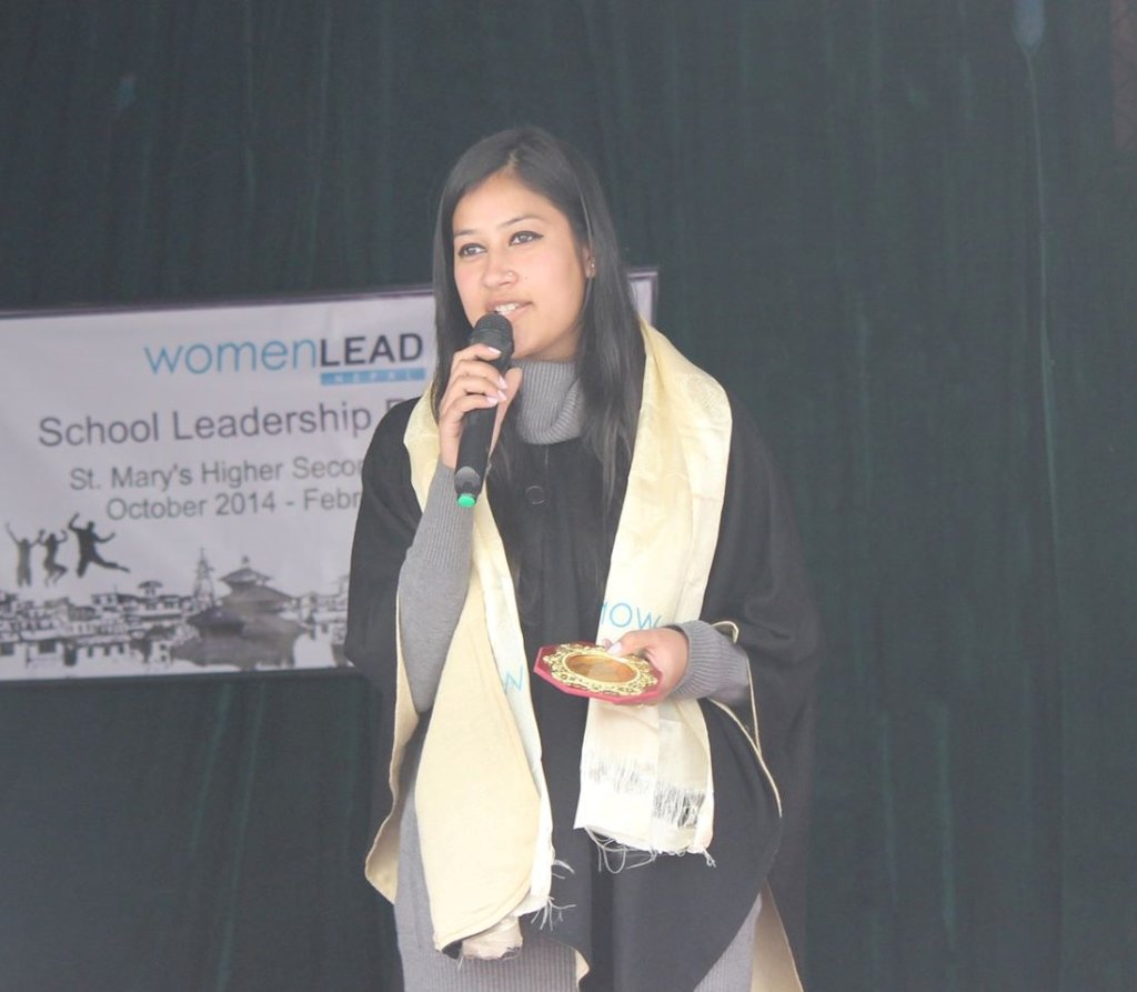 Aishwarya Speaking at a Women LEAD Event