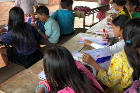 Sponsor Classrooms to Enhance Education Cambodia