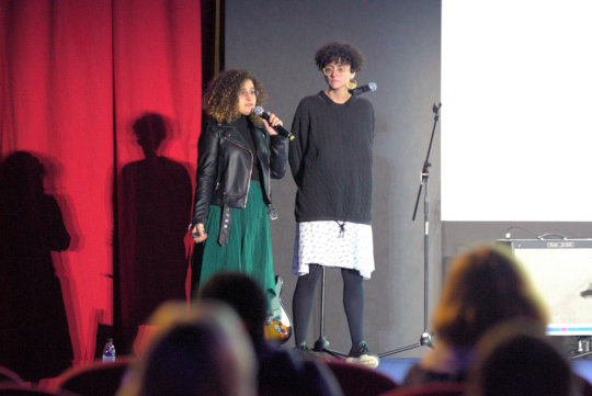 Jamal and Josette of Megaphone at Youth Mundus