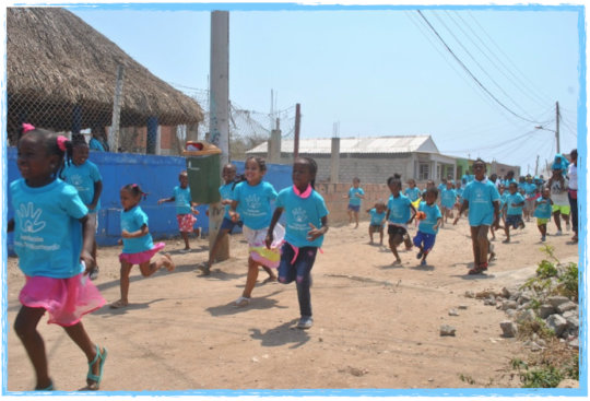 Children of Tierra Bomba Running for the Future
