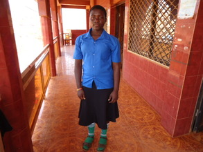 Anadel's  who is happy attending school now.