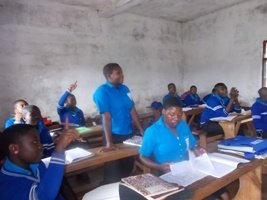 effective classes began ont he 7th Sept.