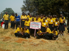OVCs during the Youth Day celebrations in Cameroon