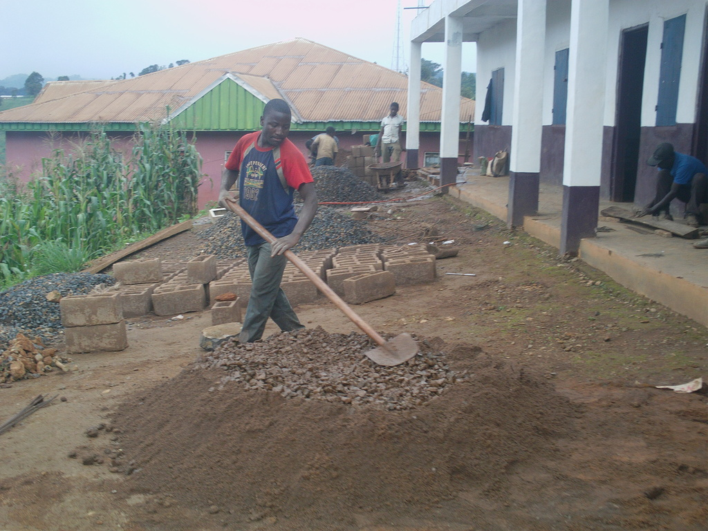Construction of additional classroom