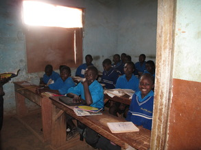 Year Two students in class