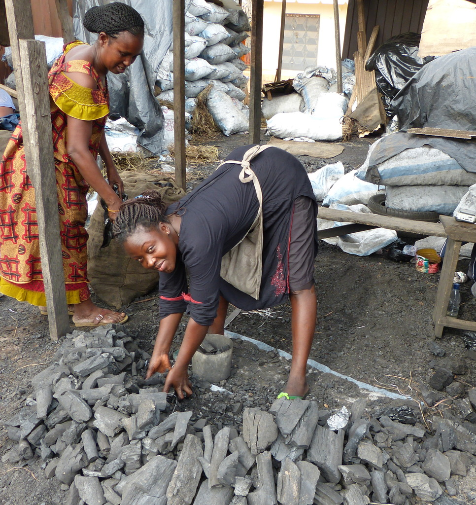 Mabel: charcoal seller, WomensTrust client