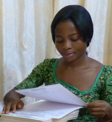 Our intern Regine starts nursing school next month