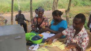 Village Savings and loan Meeting, Avaga village
