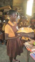 Uniform and school supplies distribution