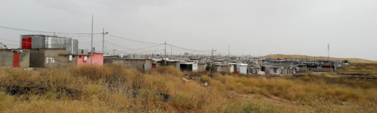 Home to our beneficiaries - a Syrian Refugee Camp