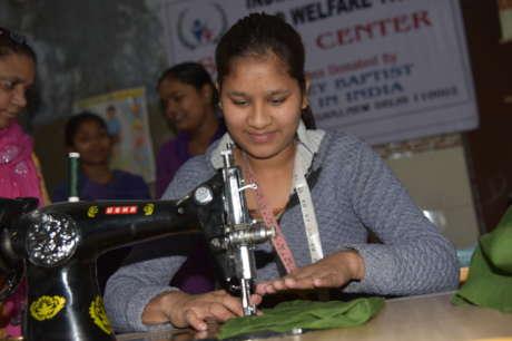 Sewing Center a Women's Empowerment Initiative
