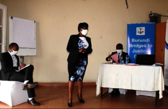 Burundi defenders' training on rights of child