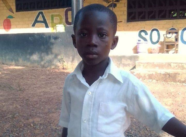 Help Future Liberian Leader, Rufus, go to School