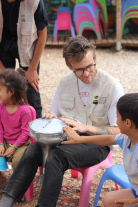 Music week in LHR's Child Friendly Space