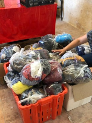 Essential items for new arrivals to Lesvos