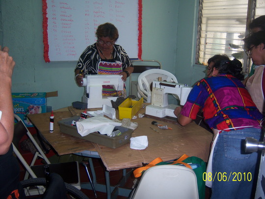August sewing machine repair workshop