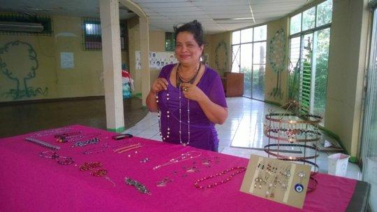 Aura with jewelry