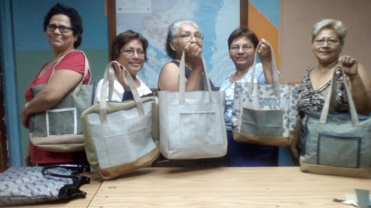 Bag sewing class
