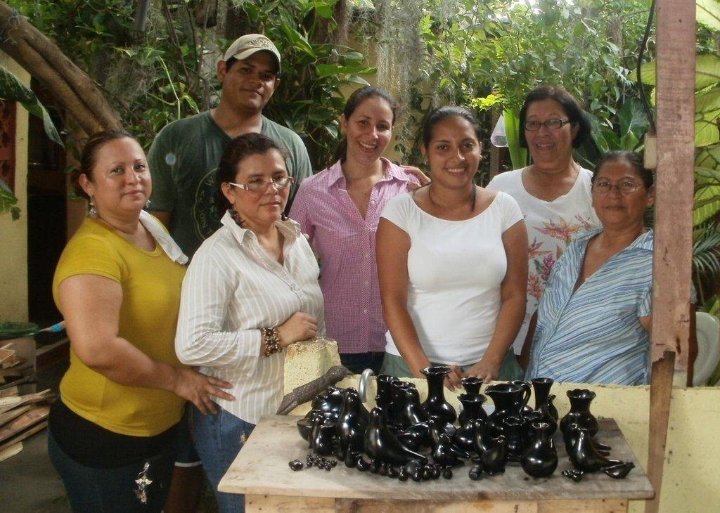 Black Ceramic class participants