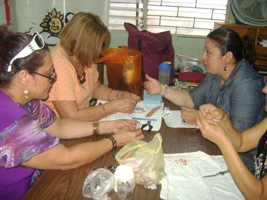 Learning Center Classes at Managua office