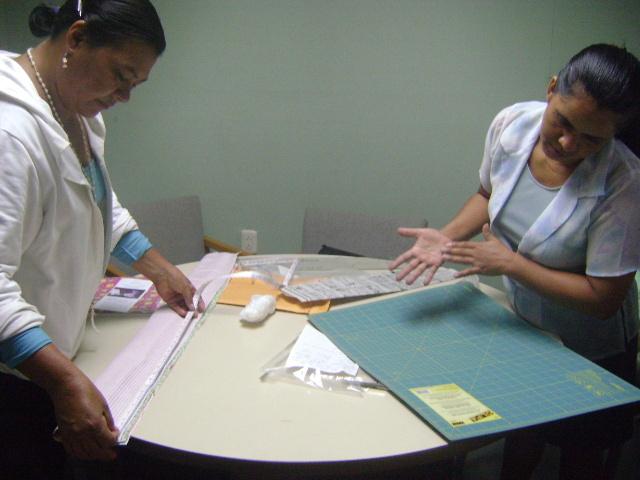 Pillow case class preparation