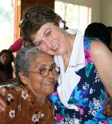 Ellen and Dona Angelica