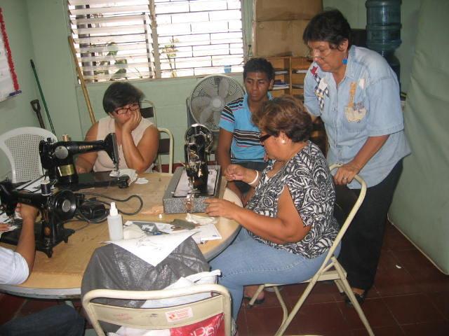 Sewing Machine Repair workshop