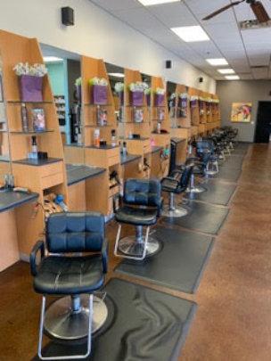 Fantastic Sams salon items donated for classes