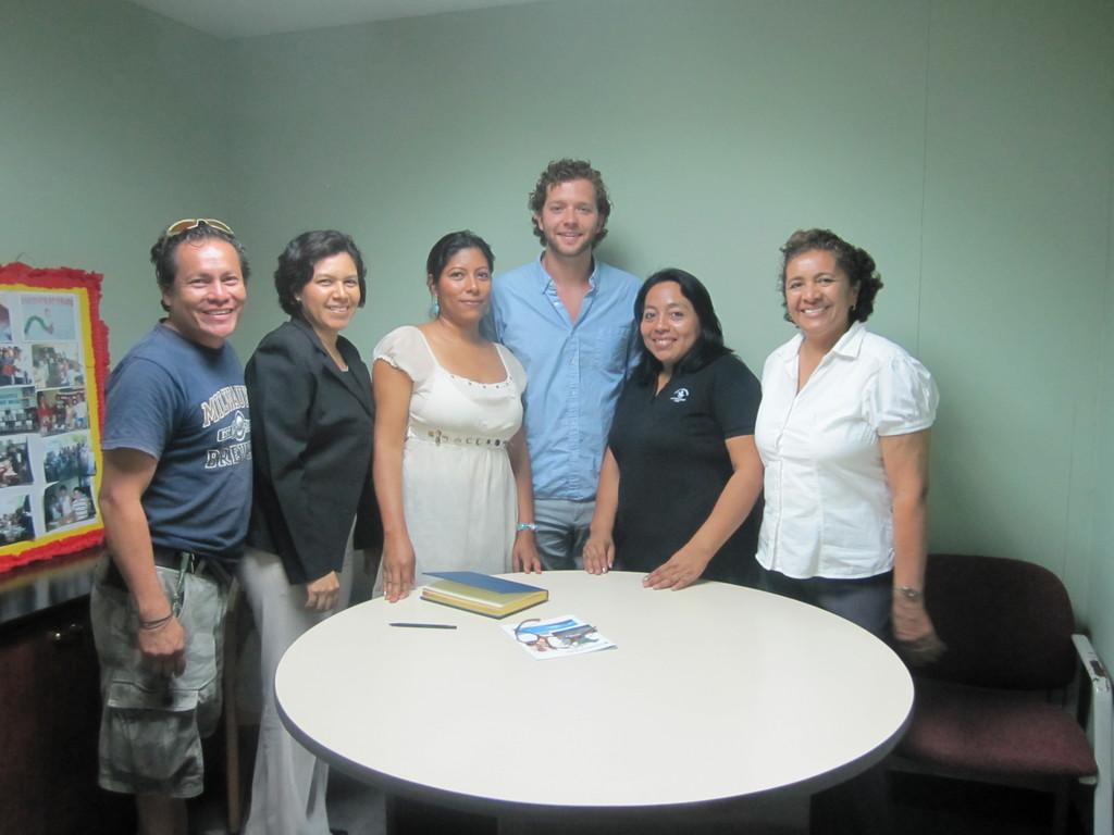Visiting WNPA Country Staff